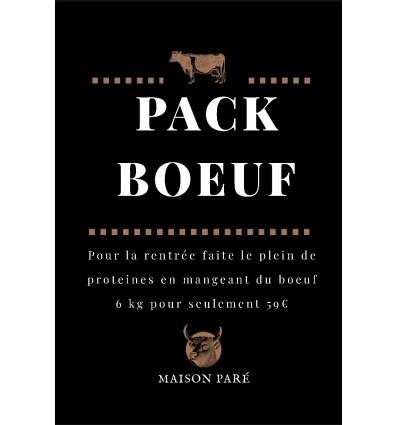 Pack boeuf