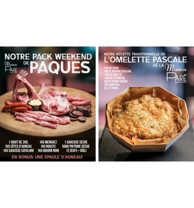 Le Pack Weekend de Pâques à 115 euros